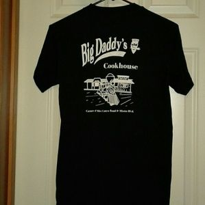 Vintage single stitch big daddys cookhouse tshirt